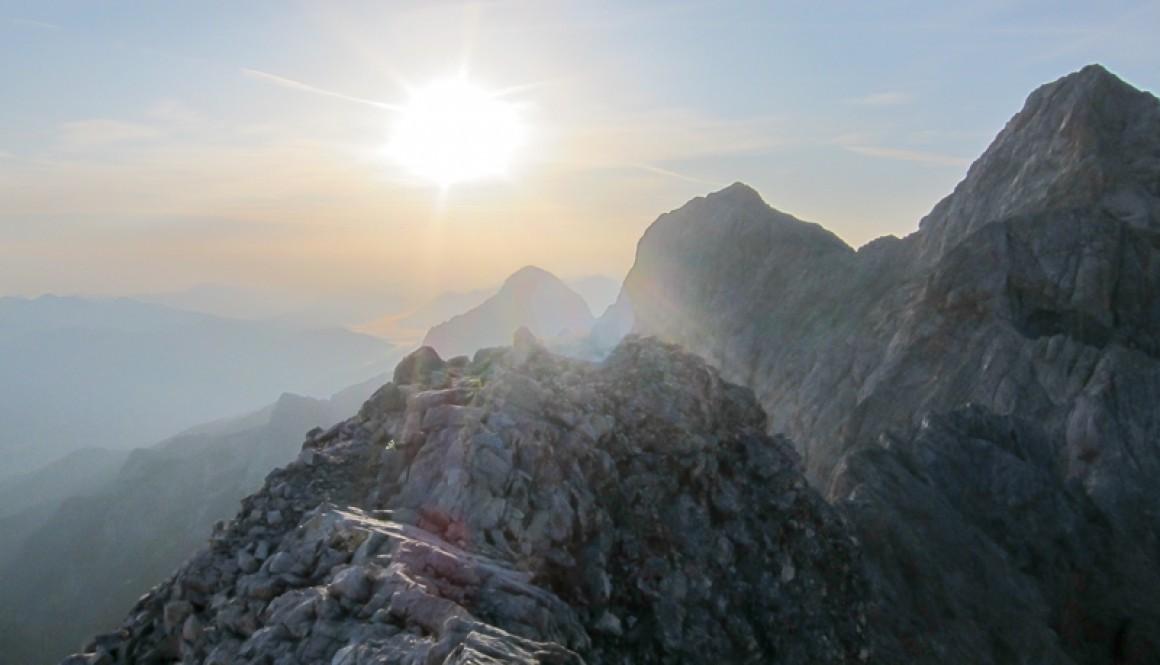 Jubiläumsgrat – Zugspitze rauf und runter