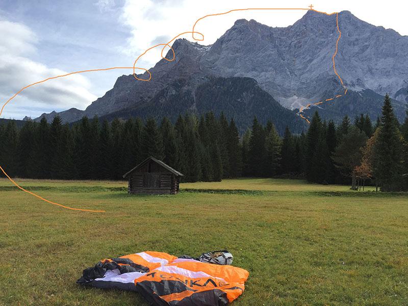 Zwischen den Toren – climb and fly