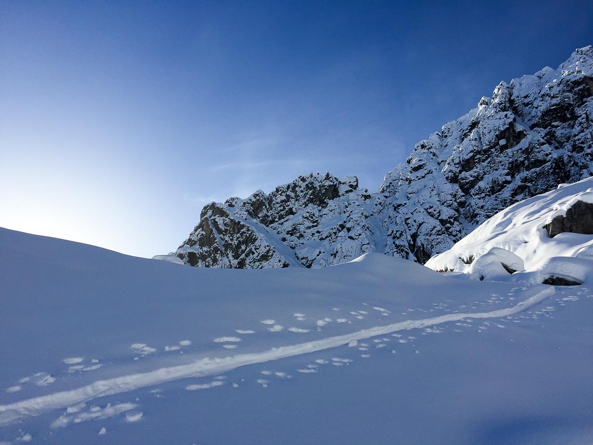 Und es gibt doch Schnee – Arlberg vor Weihnachten