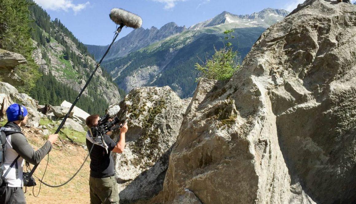 Dreharbeiten im Zillertal