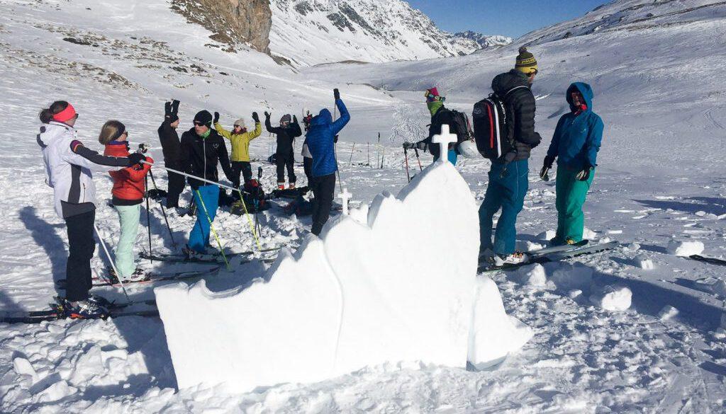 Risikomanagement im Schneesport Heidelberger Hütte 1