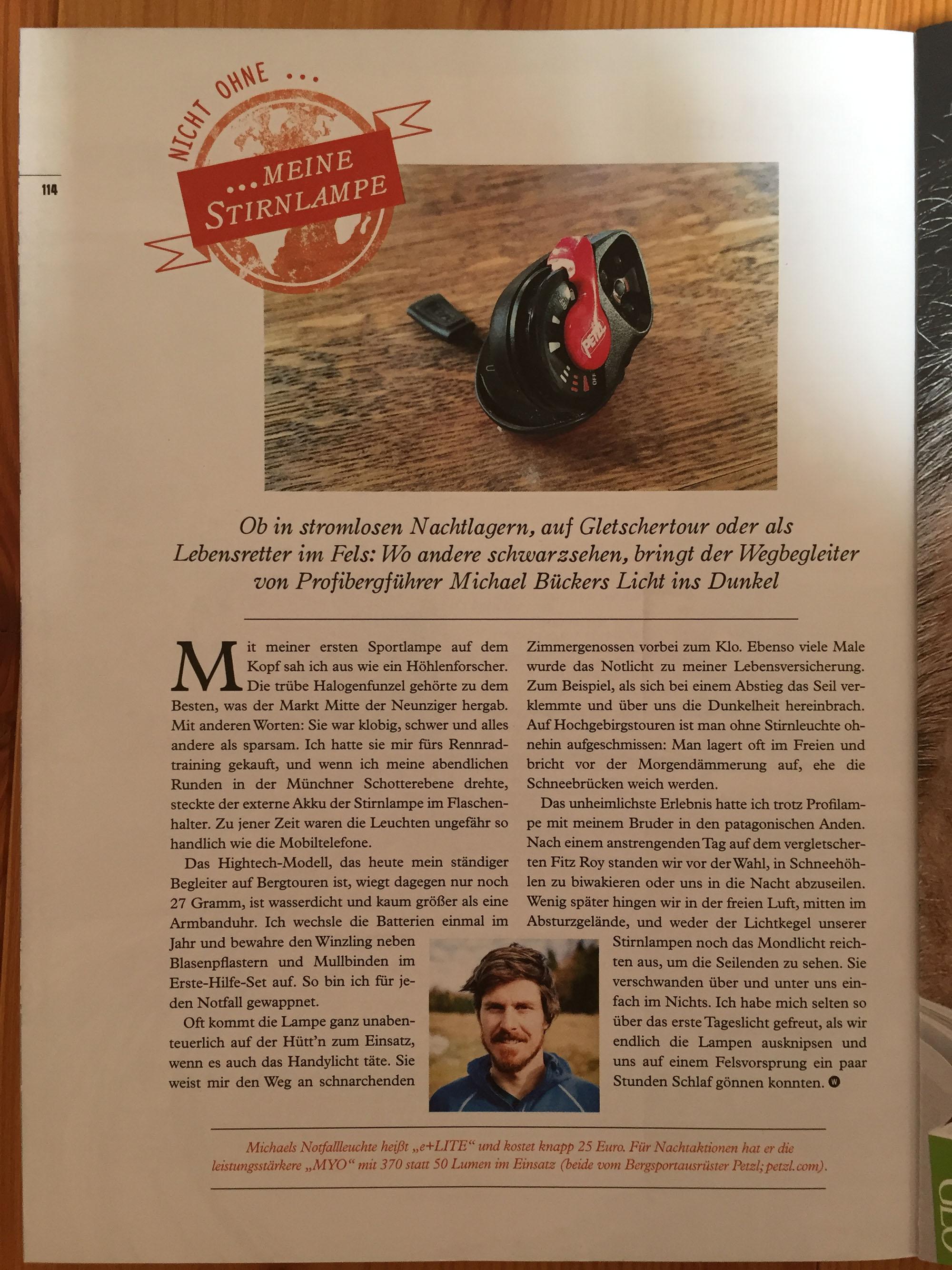 Artikel im Walden Magazin