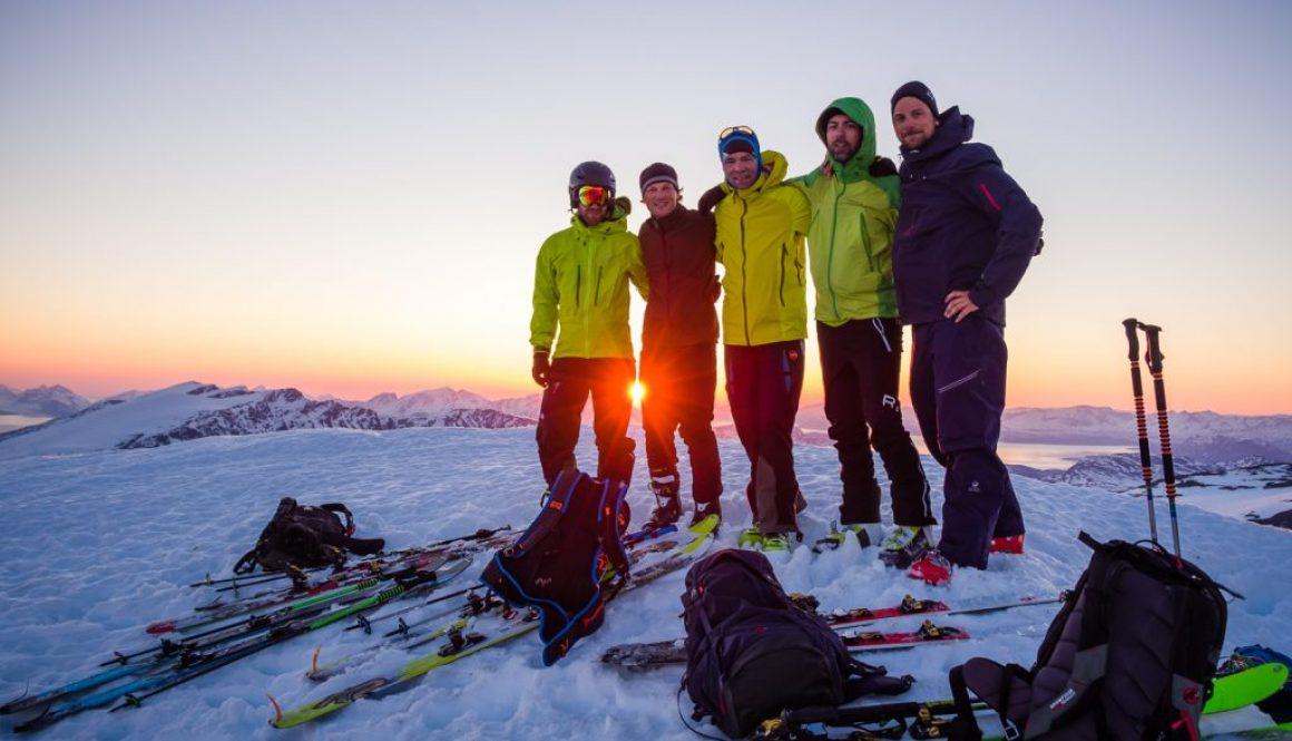 Sunrise – Lyngen wie im Traum