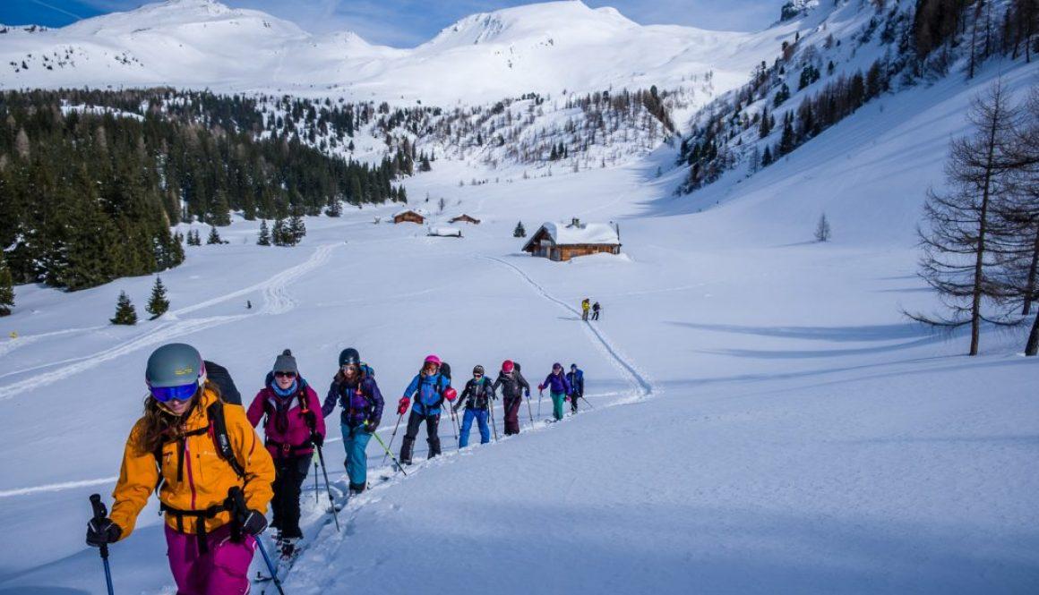 "Yoga und Skitour mit ""Sonnblick"""