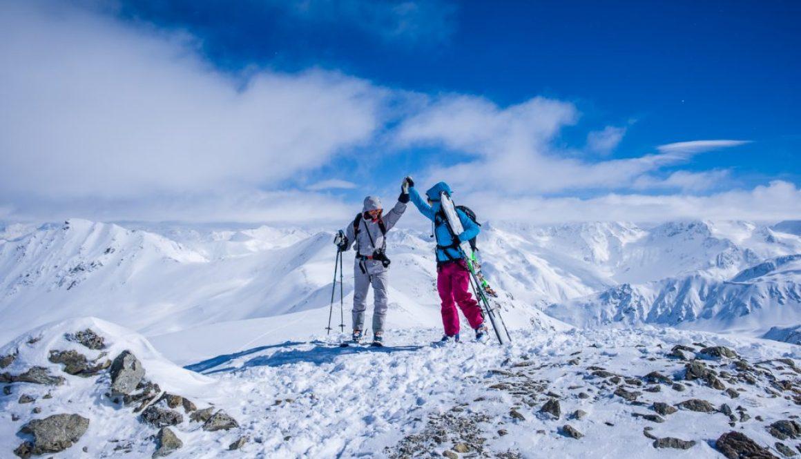 Transalp mit Ski – Chaka